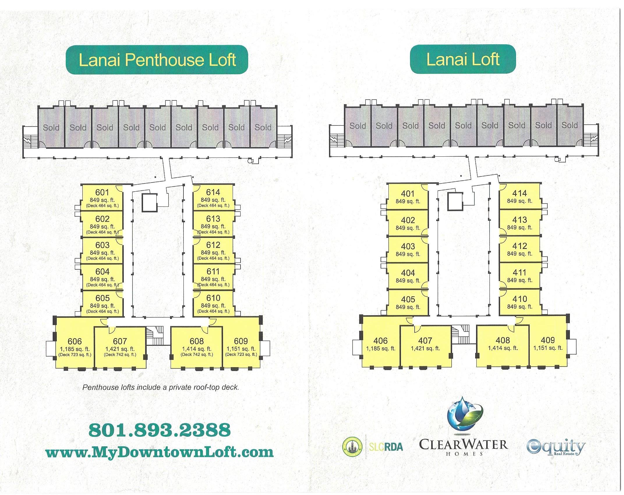 Downtown Salt Lake City Lofts Condos Broadway Park Lofts