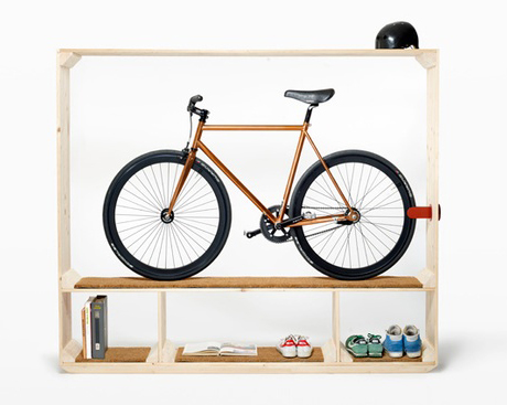 Bike storage ideas for small spaces - Bike storage small space design ...