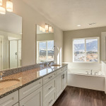Wildhorse Ranch master bath Clearwater Homes